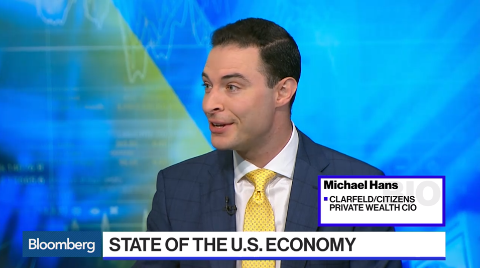 "Michael Hans Joins Bloomberg Markets: ""The Open"" to Discuss Market Moving News"
